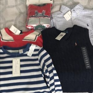 NWT 24m/2T boys clothes